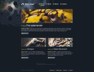 olivervogel.net screenshot