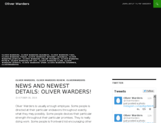 oliverwarders.xyz screenshot