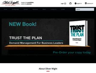 oliverwight-americas.com screenshot