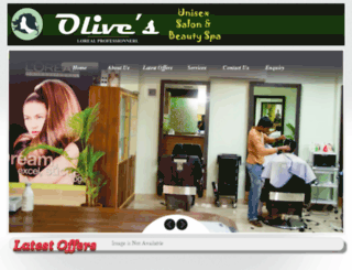 olivesbeautyspa.com screenshot
