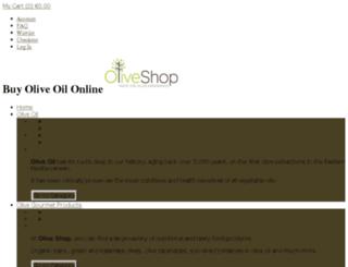 oliveshop.com screenshot