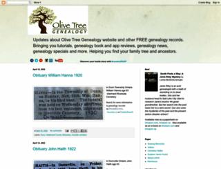 olivetreegenealogy.blogspot.com screenshot