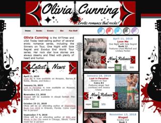 oliviacunning.com screenshot