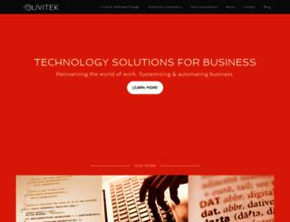 olivitek.com screenshot