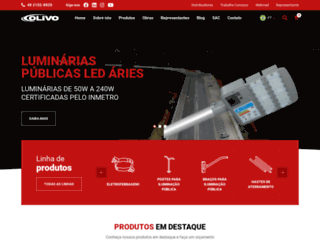 olivosa.com.br screenshot