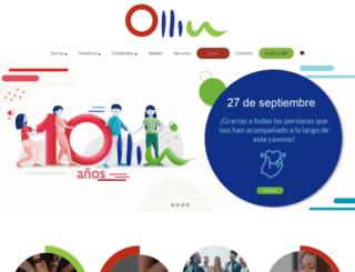 ollinac.org screenshot