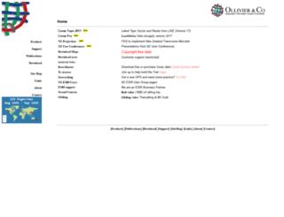 ollivier.co.nz screenshot