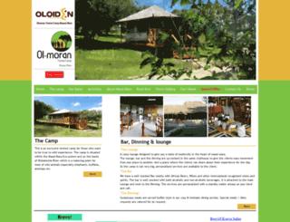 olmorantentedcamp.com screenshot
