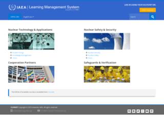 olms-nkm.iaea.org screenshot