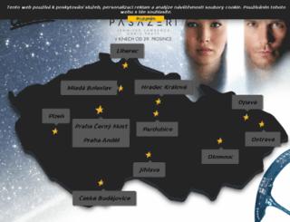 olomouc.cinestar.cz screenshot