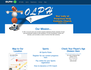 olphcyo.org screenshot
