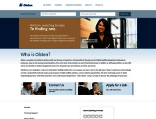 olsten.com screenshot