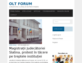 oltforum.ro screenshot