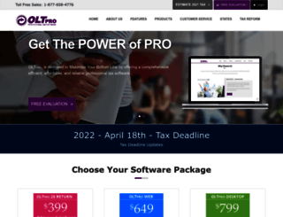 oltpro.com screenshot