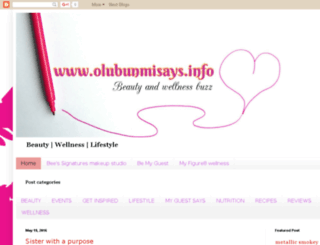 olubunmisays.info screenshot