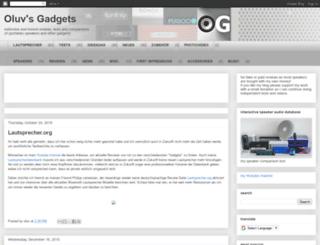 oluvsgadgets.blogspot.co.at screenshot