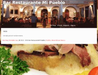 olverarestaurantemipueblo.com screenshot