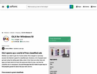 olx-windows-8.en.softonic.com screenshot