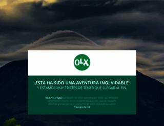 olx.com.ni screenshot