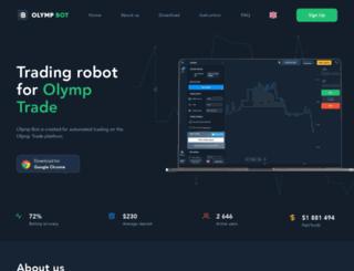 olympbot.com screenshot