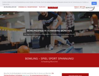 olympia-bowling.de screenshot