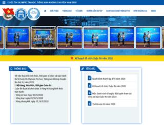 olympic.hou.edu.vn screenshot