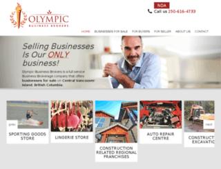 olympicbusinessbrokers.ca screenshot