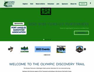 olympicdiscoverytrail.com screenshot
