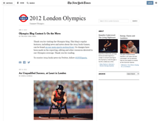 olympics.blogs.nytimes.com screenshot