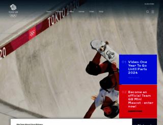 olympics.org.uk screenshot