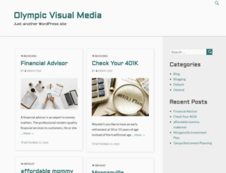 olympicvisualmedia.com screenshot