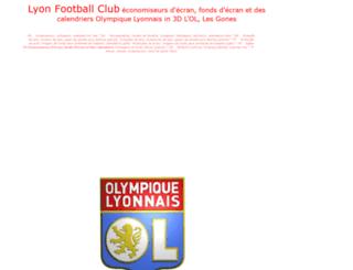 olympiquelyonnais.pages3d.net screenshot