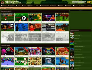 olympische-spiele.1001spiele.de screenshot