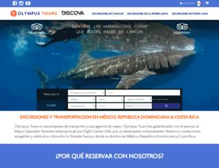 olympus-tours.com.mx screenshot