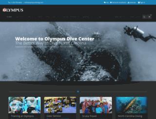 olympusdiving.com screenshot