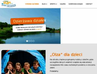 olza.com.pl screenshot