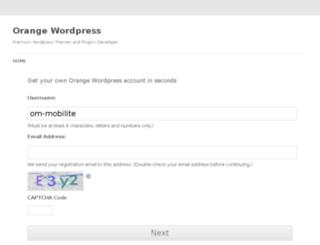 om-mobilite.orangewordpress.com screenshot