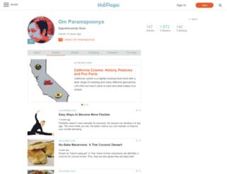 om-paramapoonya.hubpages.com screenshot