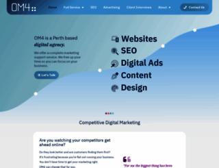om4.com.au screenshot