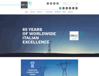 omac-italy.com screenshot