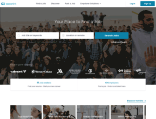 omaha.careerlink.com screenshot