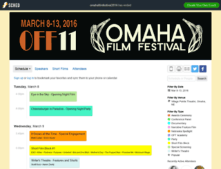 omahafilmfestival2016.sched.org screenshot