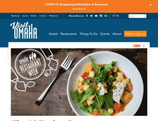 omaharestaurantweek.com screenshot