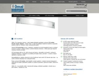 omal.cz screenshot