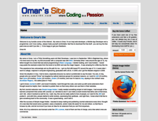 omar84.com screenshot