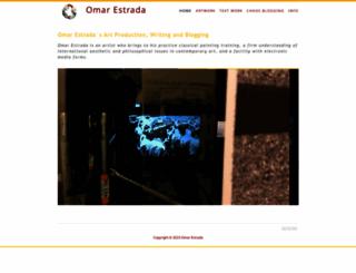 omarestrada.com screenshot