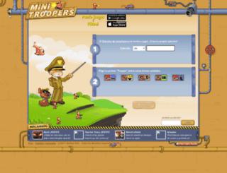 omarhenrry.minitroopers.es screenshot