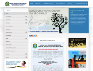 ombsp.org.br screenshot