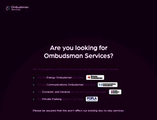 ombudsman-services.org screenshot