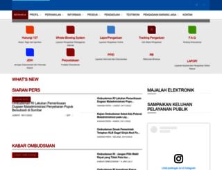 ombudsman.go.id screenshot